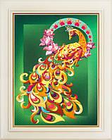 Набор для вышивки нитками Птица счастья