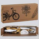 Велосипед детский двухколесный 14 голубой Corso 1426, фото 4