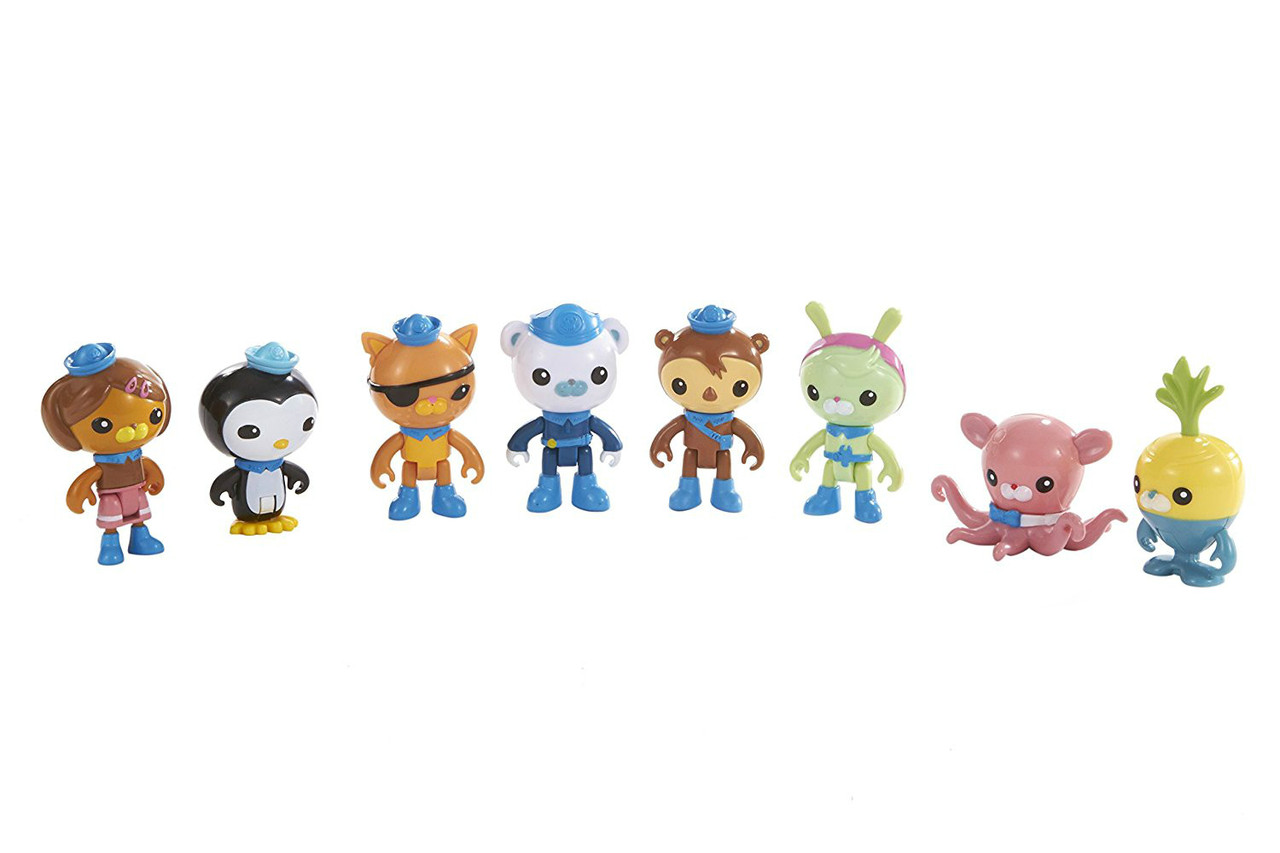 Fisher-Price Октонавты набор 8 штук Octo-Crew 8 Figure Pack