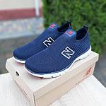 Чоловічі кросівки New Balance (темно-сині з червоним) 10094, фото 8