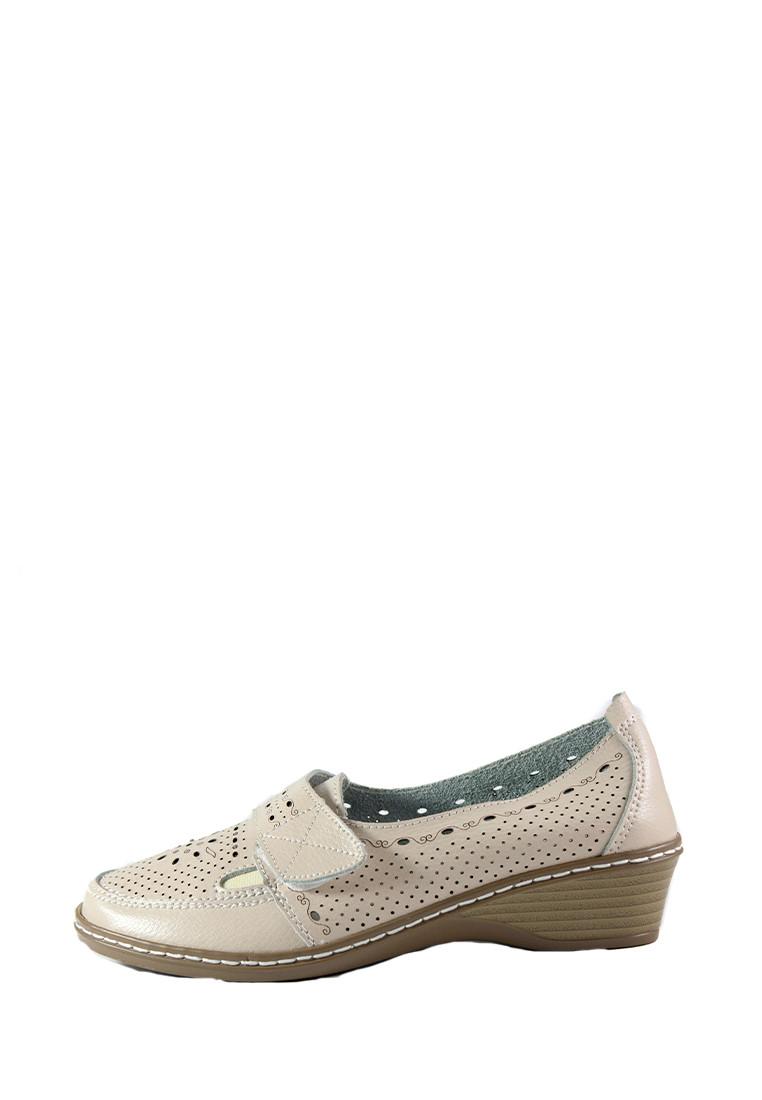 Туфли женские Allshoes 77308 бежевая кожа (36)