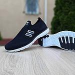 Чоловічі кросівки New Balance (чорно-білі) 10095, фото 6