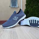 Мужские кроссовки New Balance (серые) 10096, фото 4