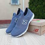 Чоловічі кросівки New Balance (сірі) 10096, фото 5