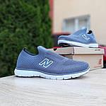Мужские кроссовки New Balance (серые) 10096, фото 8