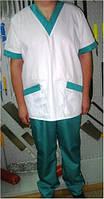 Костюм мясника, униформа поварская, куртка и брюки для работников кухни