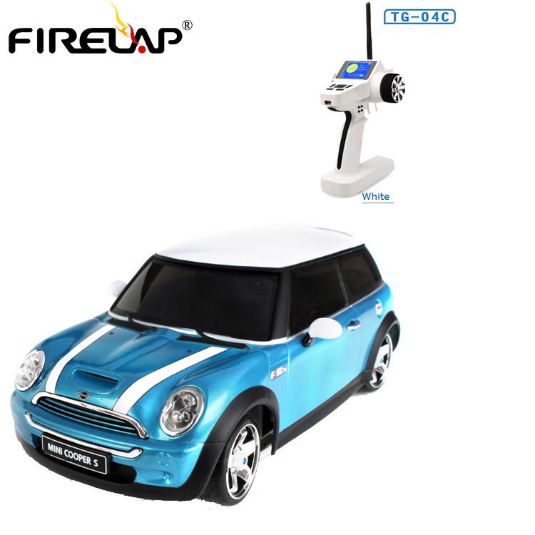 Автомодель р/у 1:28 Firelap IW04M Mini Cooper 4WD (синий)