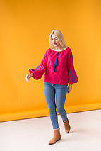 Жіноча блуза з вишивкою Зірка, фото 3
