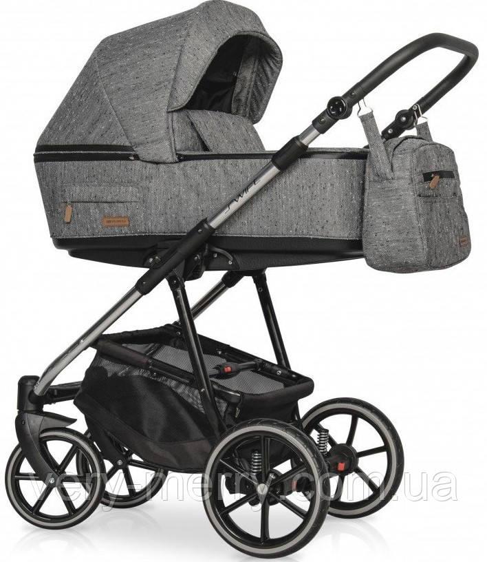 Универсальная коляска 2 в 1 Riko Swift Premium 12 Titanium