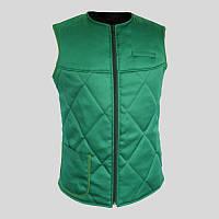 Утепленный жилет для продавцов, стеганый жилет, утепленная униформа, спецодежда, рабочая одежда