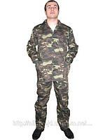 Костюм камуфлированный, рабочий костюм камуфляжный, рабочая одежда летняя