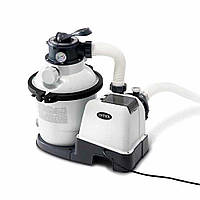 Песочный фильтр-насос Intex 26644 , 4,5м3/ч, резервуар для песка 12кг
