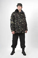 Бушлат, куртка камуфляжная утепленная,спецодежда зимняя