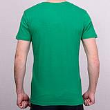 Чоловіча футболка зеленого кольору, фото 2
