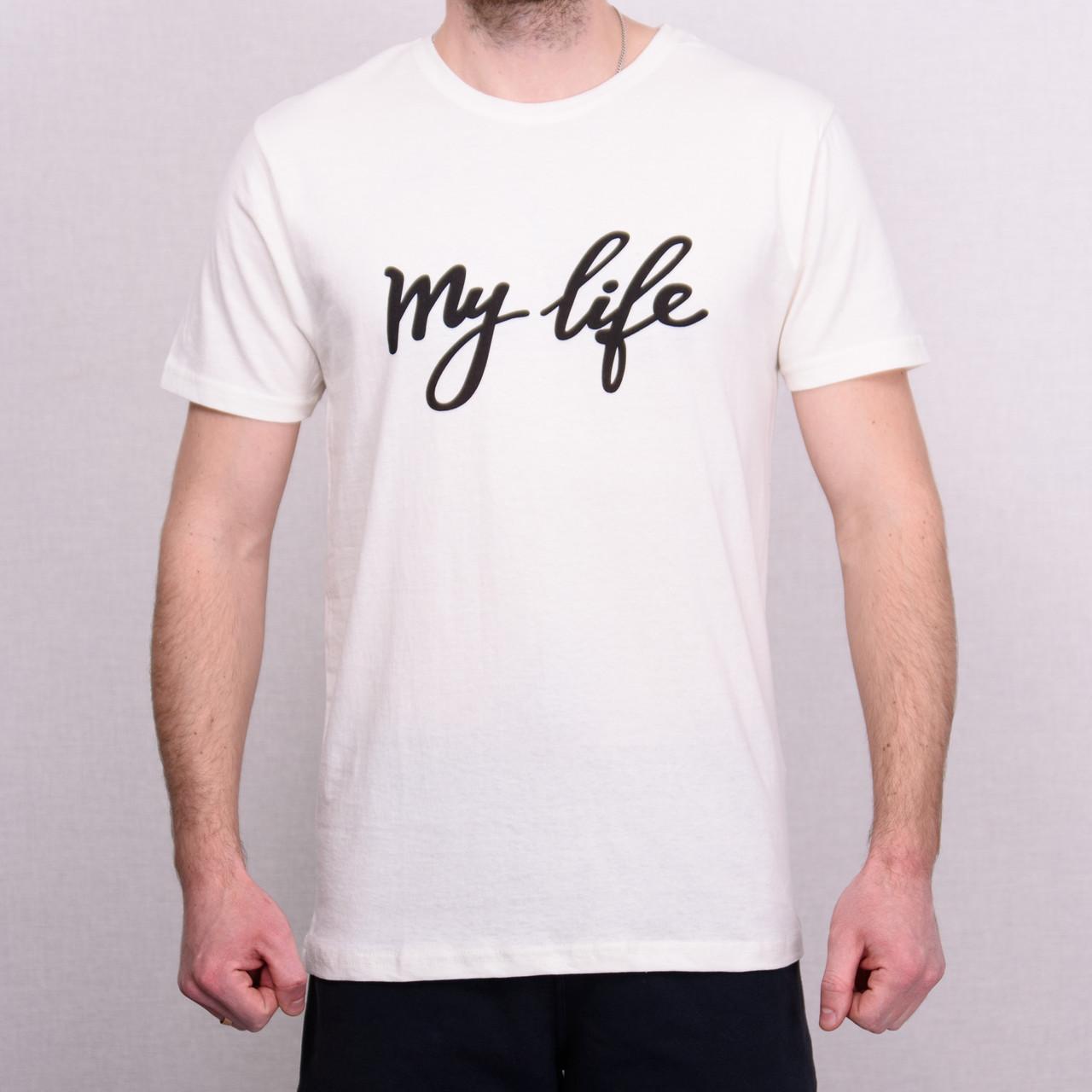 Чоловіча футболка білого кольору