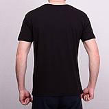 Чоловіча футболка чорного кольору, фото 2