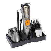 Универсальная машинка - триммер для стрижки, бритвы волос Kemei KM-5580 7 в 1