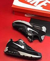 Кроссовки Nike Air Mx 90 Ultra  Essential бело-черные лицензия