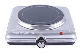 Электроплита Grunhelm GHP-5842S 1200 Вт 1 Диск Стеклокерамика
