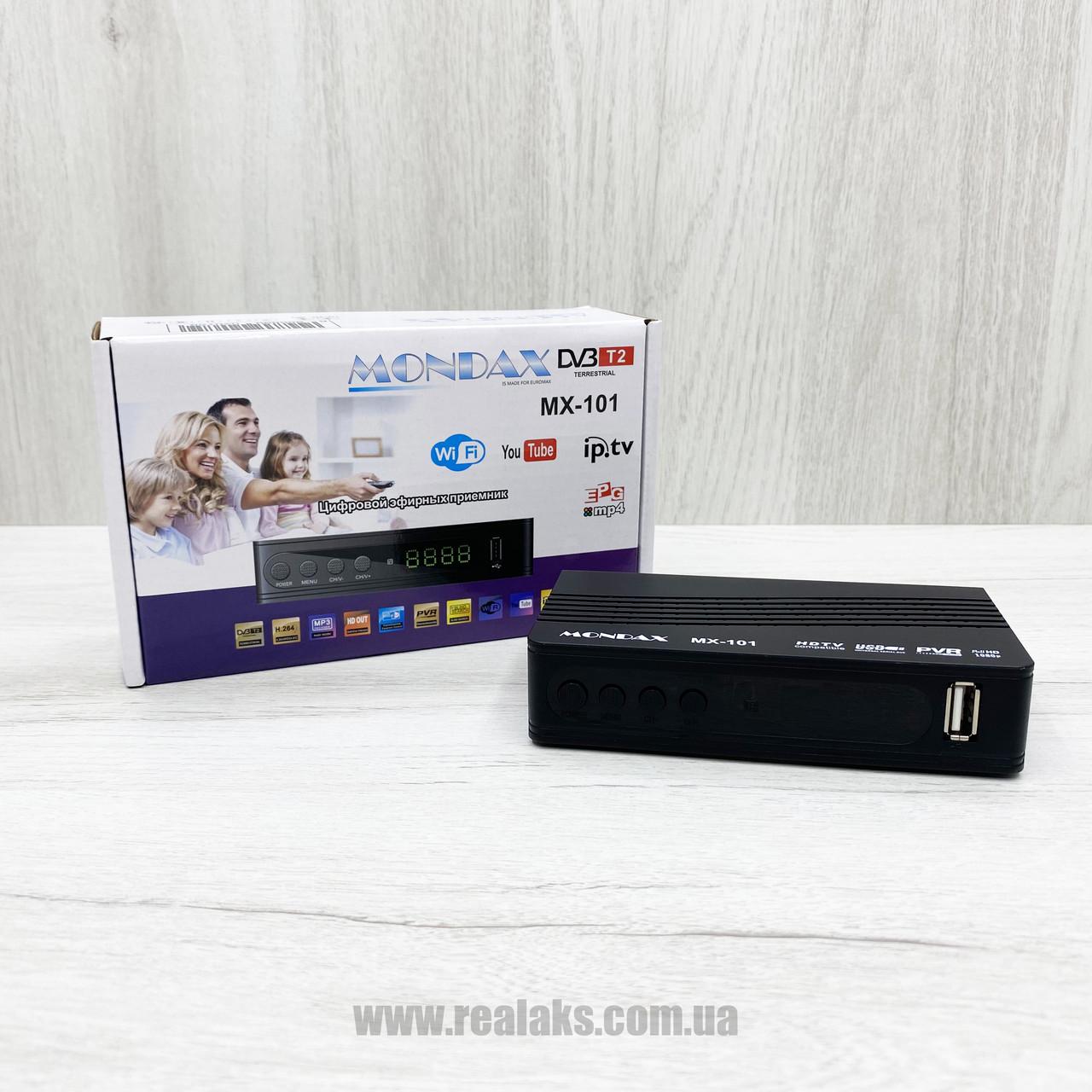 Цифровой эфирный ресивер T2 Mondax MX-101