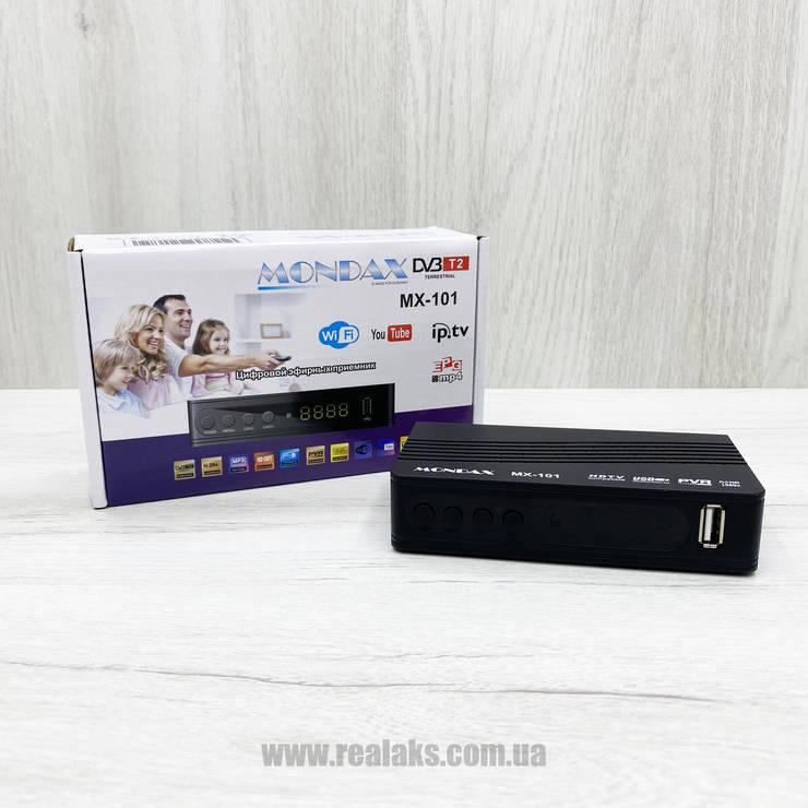 Цифровой эфирный ресивер T2 Mondax MX-101, фото 2