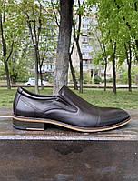 Мужские туфли лоферы JaCkers Италия натуральная кожа 40, фото 1