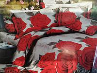 3D Сімейний постільна білизна Modatex - Троянди