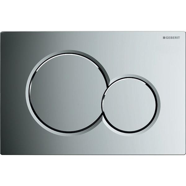"Кнопка смыва Geberit ""Sigma01"", пластик, хром глянцевый 115.770.21.5"