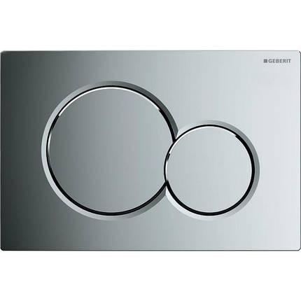"Кнопка смыва Geberit ""Sigma01"", пластик, хром глянцевый 115.770.21.5, фото 2"