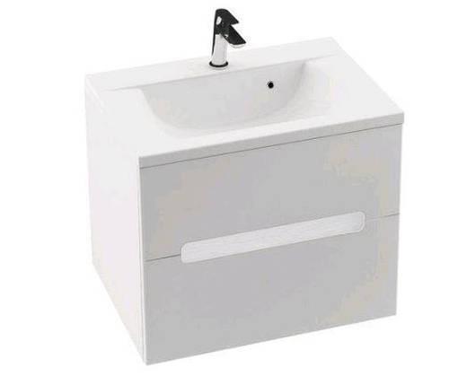 Шкафчик Classic II 700 (белый/белый), фото 2