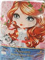 Молдавское детское постельное белье Тиротекс розовое