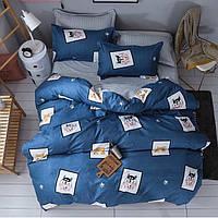 Полуторное постельное белье Gold - Хаски и Акита