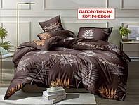 Полуторное постельное белье Gold папоротник