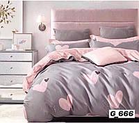 Двоспальне постільна білизна Gold ля мур