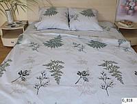 Двоспальне постільна білизна Gold - Папороть