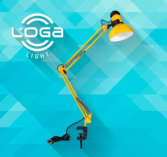 Лампа-струбцина Украина (ТМ LOGA ® Light) серия L-600