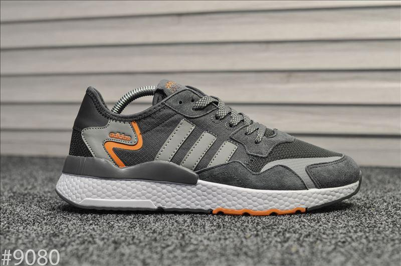Кроссовки Adidas Nite Jogger Gray (Адидас Найт Джоггер)