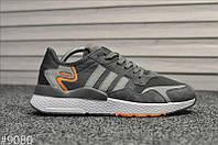 Кроссовки Adidas Nite Jogger Gray (Адидас Найт Джоггер), фото 1
