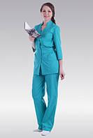 Костюм для медработников, куртка,брюки,женский,спецодежда для мед работников