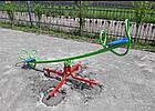 Балансир-карусель, 2 в 1. Дитячі гойдалки-каруселі., фото 3