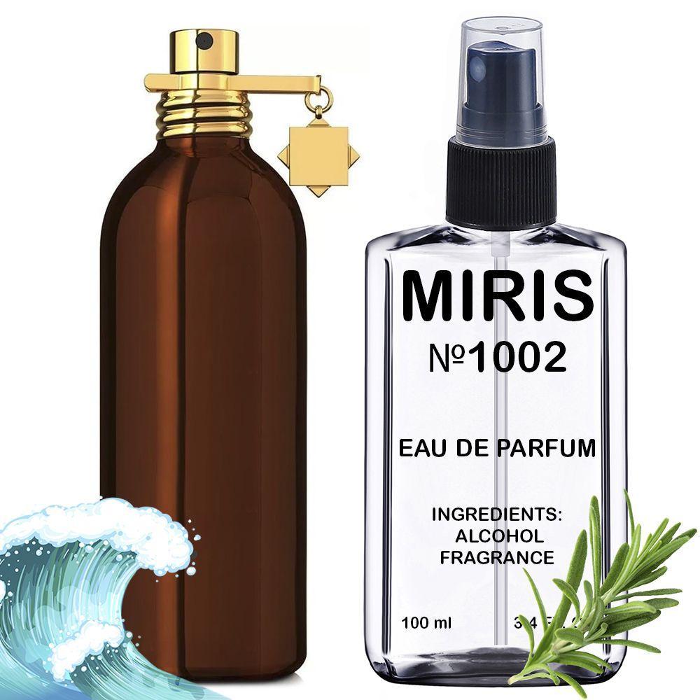 Духи MIRIS №1002 (аромат похож на Montale Aoud Forest) Унисекс 100 ml