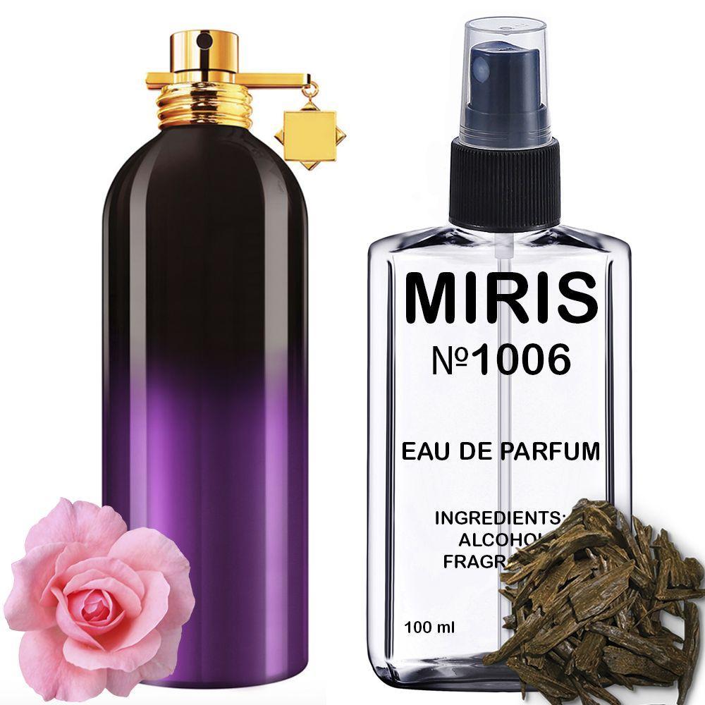 Духи MIRIS №1006 (аромат похож на Montale Aoud Sense) Унисекс 100 ml