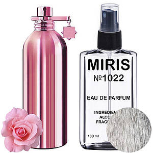 Духи MIRIS №1022 (аромат похож на Montale Roses Musk) Женские 100 ml