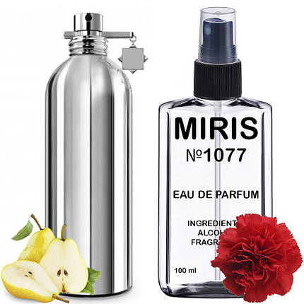 Духи MIRIS №1077 (аромат похож на Montale Wild Pears) Унисекс 100 ml, фото 2