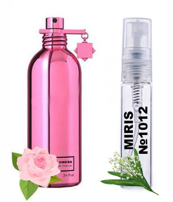 Пробник Духів MIRIS №1012 (аромат схожий на Montale Crystal Flowers) Унісекс 3 ml