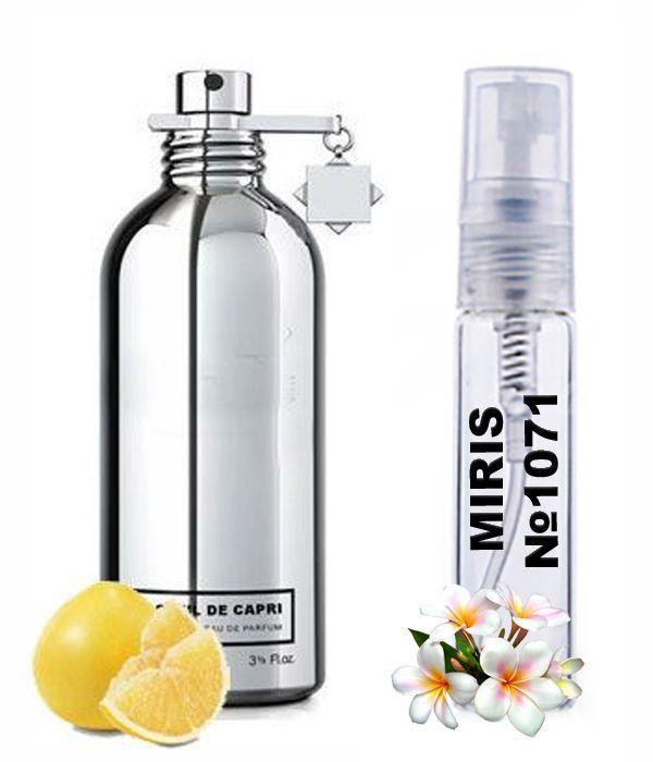 Пробник Духов MIRIS №1071 (аромат похож на Montale Soleil de Capri) Унисекс 3 ml