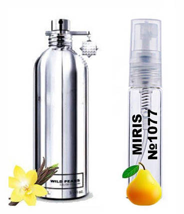 Пробник Духов MIRIS №1077 (аромат похож на Montale Wild Pears) Унисекс 3 ml, фото 2