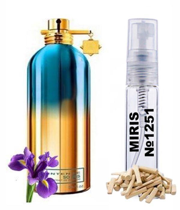 Пробник Духов MIRIS №1251 (аромат похож на Montale Intense So Iris) Унисекс 3 ml
