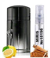 Пробник Духов MIRIS №18196 (аромат похож на Paco Rabanne Black XS L'Exces Men) Мужские 3 ml
