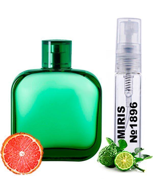 Пробник Духів MIRIS №1896 (аромат схожий на Eau De Lacoste L. 12.12 Vert) Чоловічі 3 ml